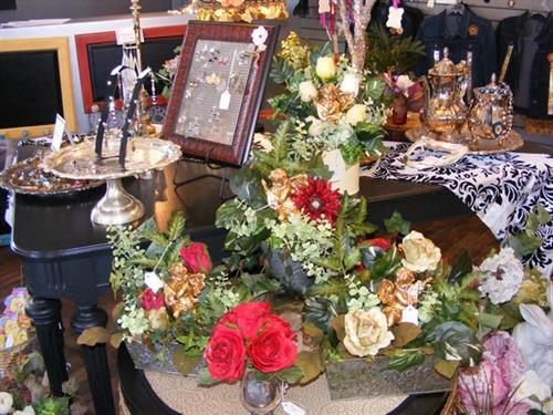 Valentine silk floral