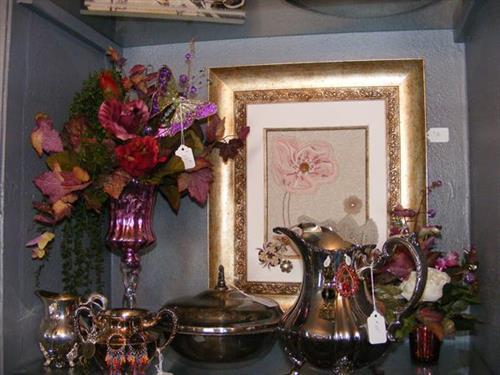 floral, earrings, art