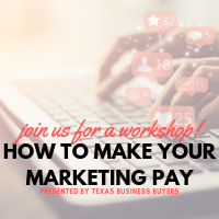 WORKSHOP: How to Make Your Marketing Pay