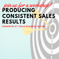 WORKSHOP: Producing Consistent Sales Results