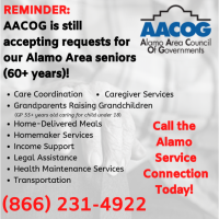 Alamo Area Council of Governments (AACOG) - San Antonio