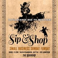 The RoundUp Music Venue 1st Annual Sip and Shop