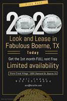 Stone Creek Village Townhomes--Free Rent with Look and Lease Special