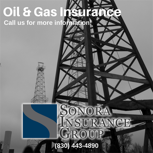 In the Oil & Gas Industry? Give us a call for your insurance needs.