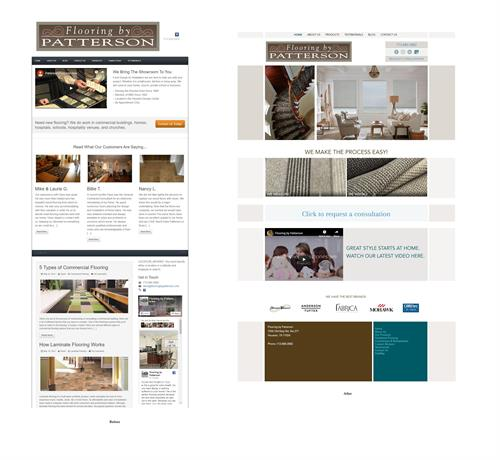 Responsive Web Design | Before & After