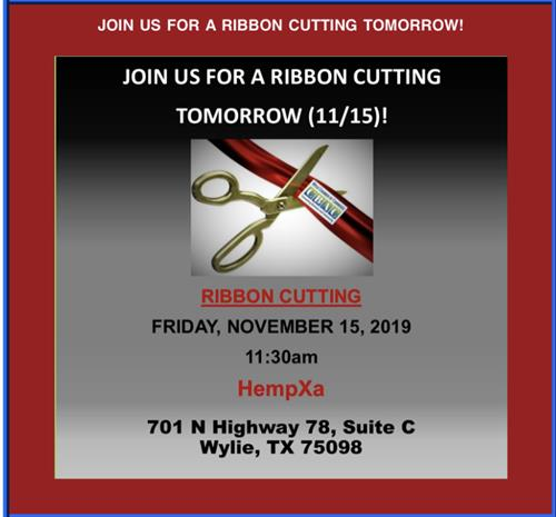 Ribbon Cutting with Wylie Chamber