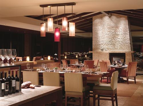 Fine dining in CORE Kitchen & Wine Bar
