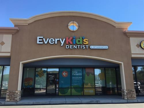 We treat patients of all ages bring the little ones to Every Kid's Dentist today!