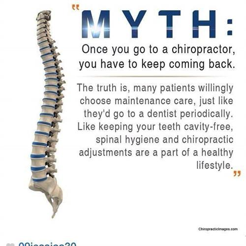 Like Keeping your teeth cavity-free spinal hygiene and chiropractic adjustments are a part of a healthy lifestyle.