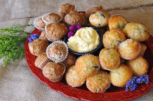 Breakfast Available - Mini Muffins