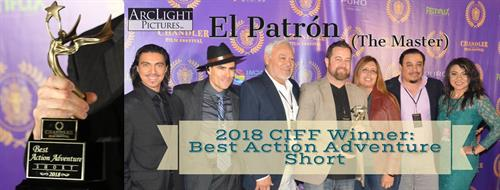 Winner at Chandler International Film Festival
