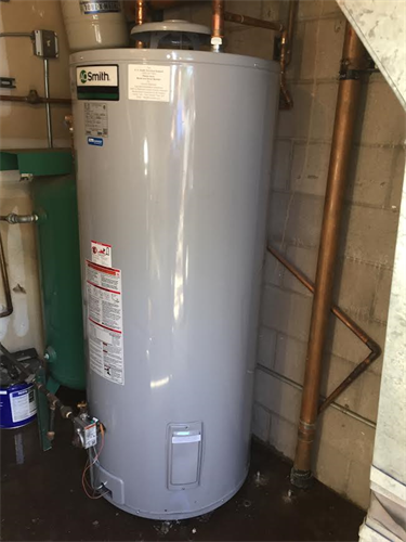 Commercail Water Heater Install