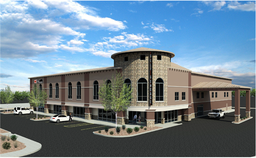 National Self Storage- Dove Mountain Rendering 1