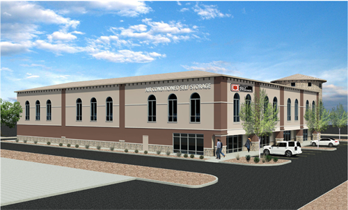 National Self Storage- Dove Mountain Rendering 2