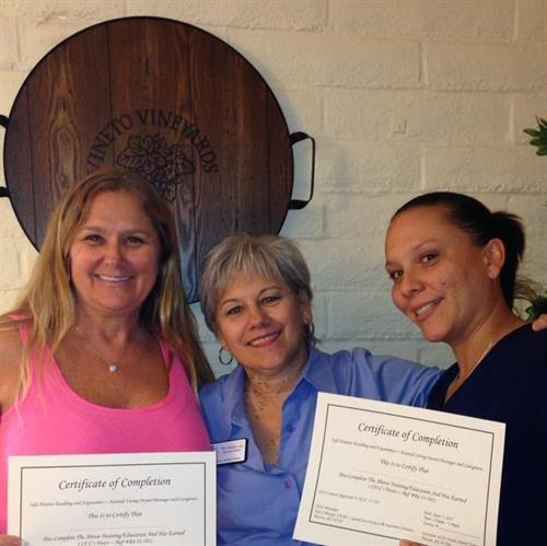 Providing CEU Certificates for Assisted Living Staff