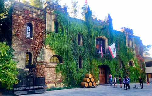 Chateau Montelena, November 2018
