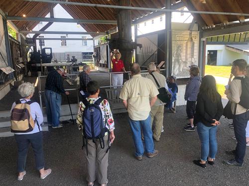 Exploring Maine Maritime Museum, June 2019