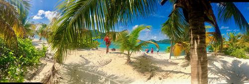 Sandy Island, near Carriacou, August 2018