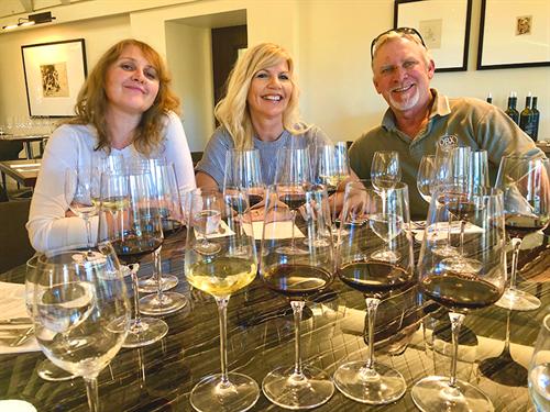 Enjoy tapas and wine tasting at Sterling Vineyards, November 2018