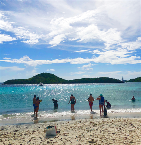 Snorkeling at Tobago Cays, August 2018