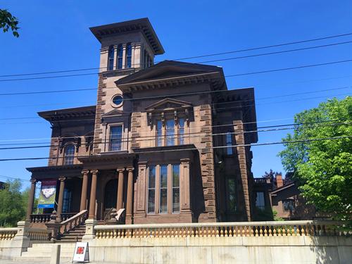 Visit to Victoria Mansion, June 2019