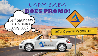 2Lu Consultants DBA Lady Baba Does Promo!