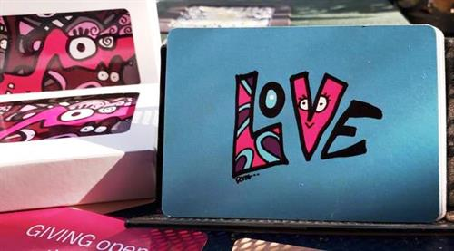 Rynski Dazzle Deck: Pick a card, any card, for inspiration and a smile. Get yours at Rynski.Etsy.com