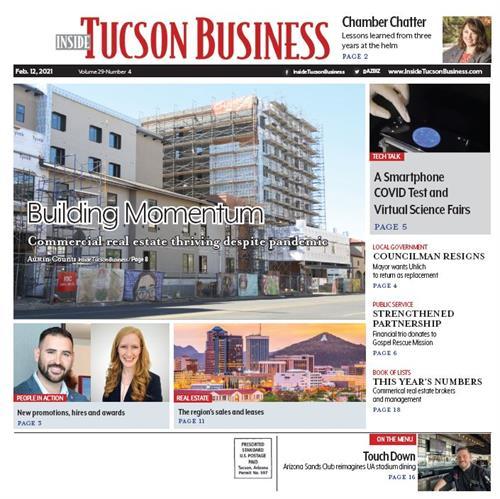 Inside Tucson Business - Business Journal BiWeekly