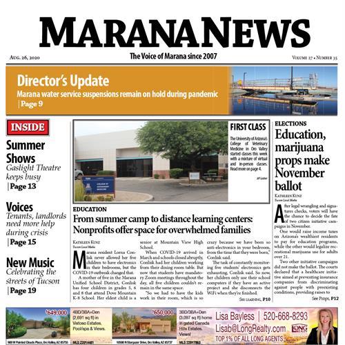 Marana News - Weekly Newspaper / Northwest Tucson & Marana