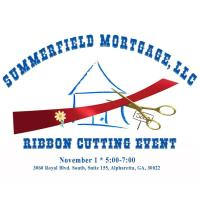 Ribbon Cutting - Grand Opening -  Summerfield Mortgage