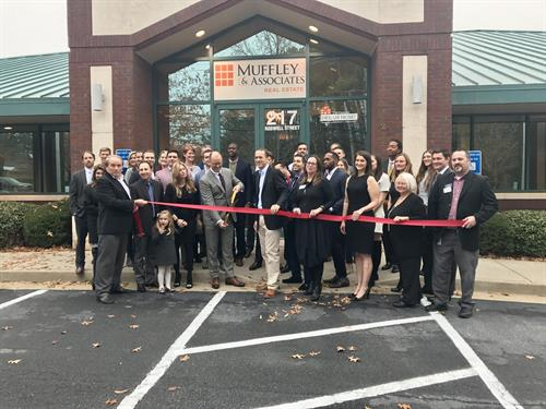 Alpharetta Office Ribbon-Cutting