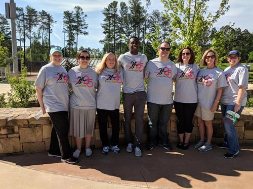 Renasant Bank Volunteering at the 25th Annual Fulton County Golden Games !