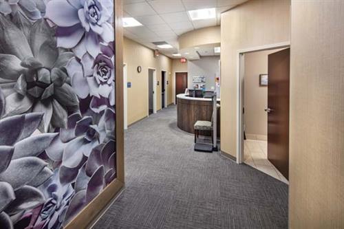 Modern OBGYN Alpharetta at Avalon office.