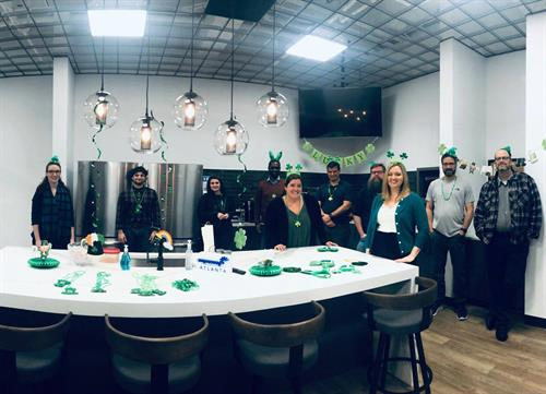 St. Patrick's Day at IA!