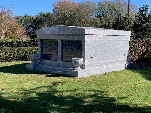 2 person Private Mausoleum