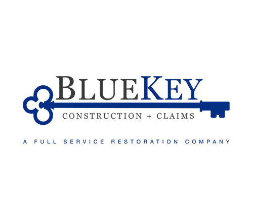 BlueKey Construction & Claims Logo