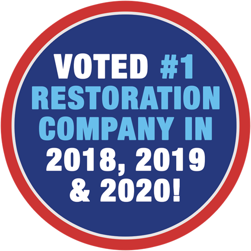 BlueKey Voted #1 Restoration Three Years in a Row!