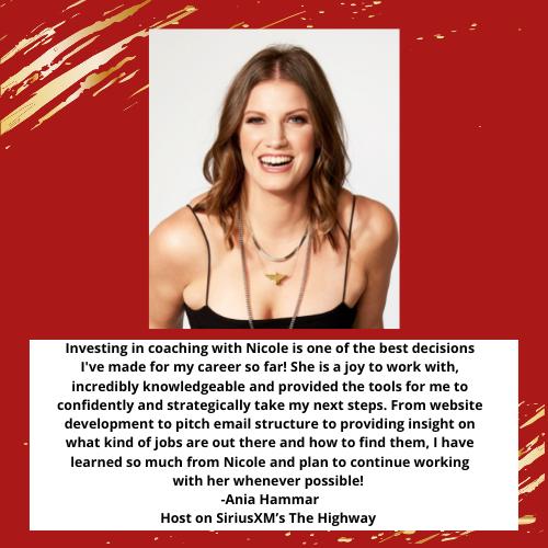 Testimonial: Ania Hammar of Sirius XM's The Highway