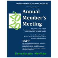The Regional Chamber of Northeast Indiana 2020 Annual Meeting - CANCELED
