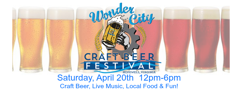 Wonder City Craft Beer Festival Returns to Hopewell