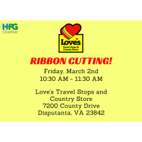 2018 Ribbon Cutting: Love's Travel Stops and Country Store