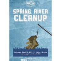 FOLAR Annual River Spring Cleanup