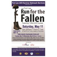 Fort Lee Run for the Fallen