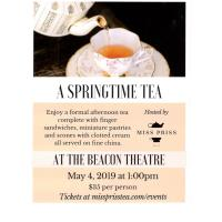 A Springtime Tea at The Beacon Theatre
