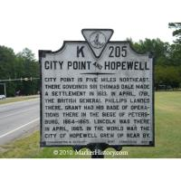 Why Did Lincoln Stop First in Hopewell VA in 1865?