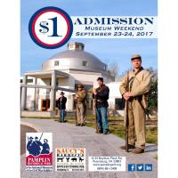$1 Admission Weekend at Local History Park near Hopewell and Prince George, Virginia