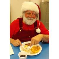 Santa Stops for Breakfast in Prince George County, VA