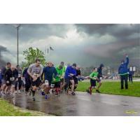 Rainy Riverside Runners in Prince George County, Virginia.