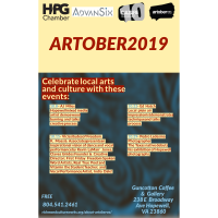 HPG combines with Cultureworks RVA and AdvanSix for a second year of Artober