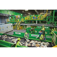 Waste Management Azusa Materials Recycling Facility Tours